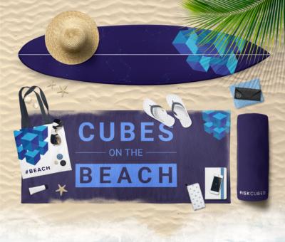 Cubes on the Beach, Florida