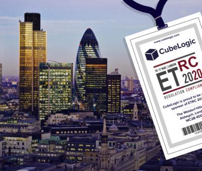 10th & 11th March 2020 – CubeLogic sponsor ETRC in London