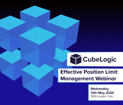 Wednesday 13th May 2020 – Effective Position Limit Management Webinar
